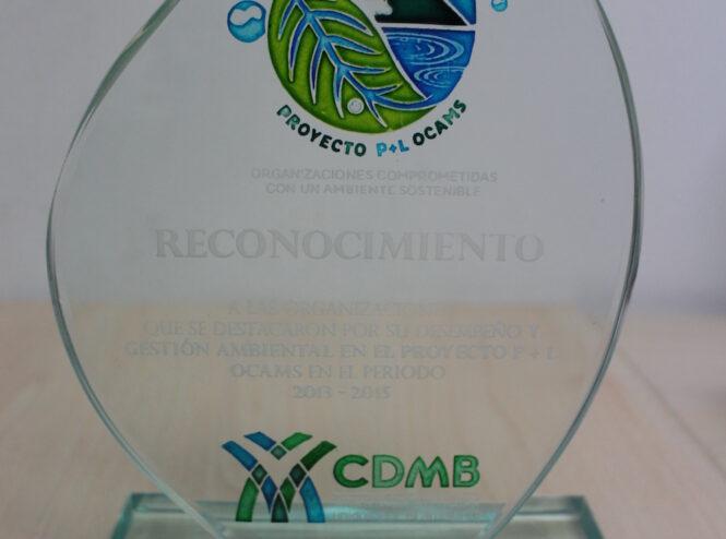 Reconocimiento CDMB, Organizaciones Comprometidas con un Ambiente Sostenible OCAMS