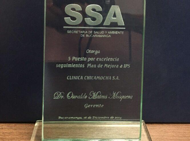 Secretaría Salud y Ambiente de Bucaramanga