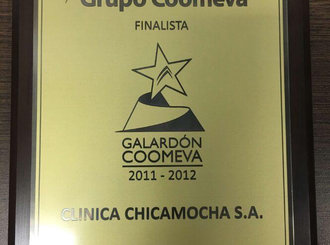 Grupo Coomeva, Finalista, Galardón Coomeva 2011-2012