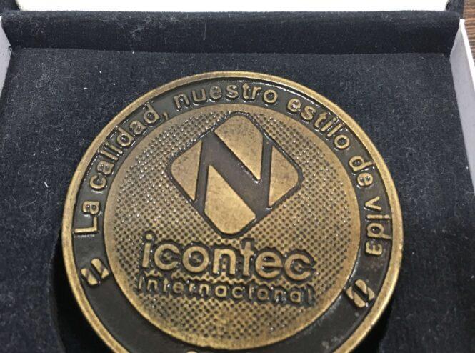 Reconocimiento Por Afiliación, 10 años Icontec Internacional