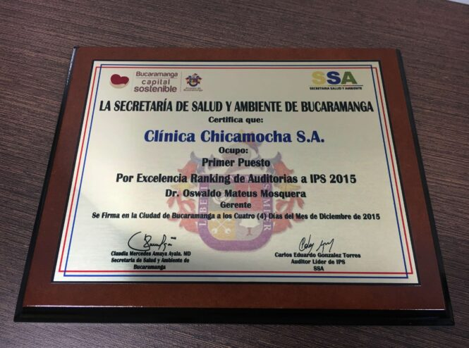 Secretaría de Salud y Ambiente de Bucaramanga